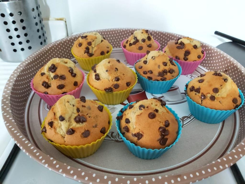 Ricetta Muffin Con Gocce Di Cioccolato.Muffin Con Gocce Di Cioccolato Ricetta Ottopagine It